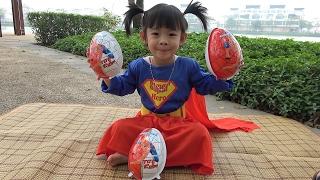 Surprise Eggs Opening Toys For Kids – Trò Chơi Bóc Trứng Bất Ngờ ❤ Anan ToysReview TV ❤