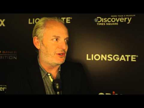 Francis Lawrence Interview - The Hunger Games Exhibition [HD]