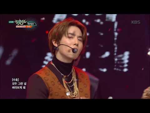 뮤직뱅크  Bank - TEMPO - EXO엑소20181109