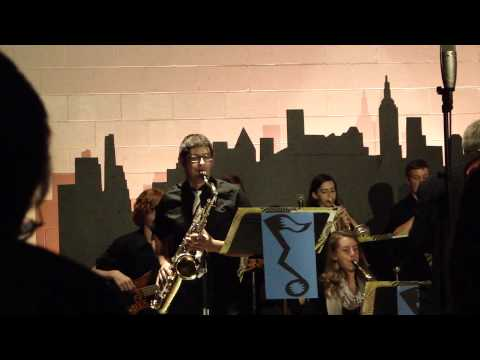 East Troy High School's Jazz Lab - Quiet Nights of Quiet Stars (Trevor Kent) 5/28/14