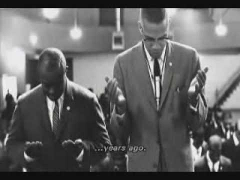 ossie davis's eulogy for Malcolm X(the ending of the Malcolm X movie)