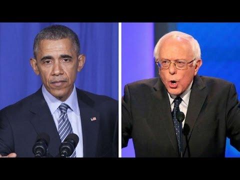 Obama Vs Bernie Sanders On The Economic Recovery