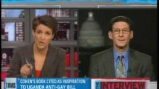 Rachel Maddow takes down gay-to-straight conversion seminarist Richard Cohen (pt 1/2)