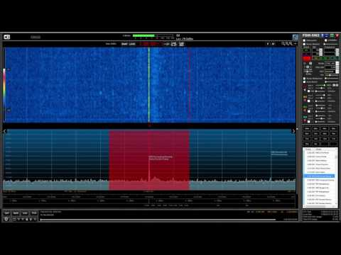 Radio Sonder Grense 3320 kHz, South Africa, first indoor reception on 90 m