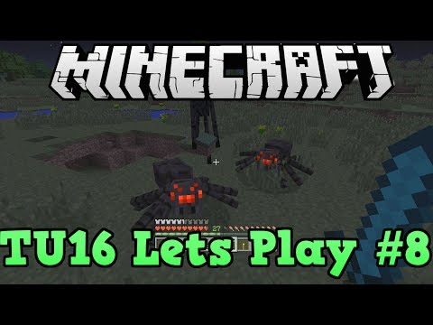 Minecraft Xbox 360 TU16 Lets Play #8 endermen