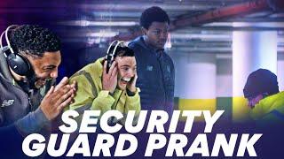 Robertson and Gomez PRANK Rhian Brewster | NordVPN's HILARIOUS security guard prank