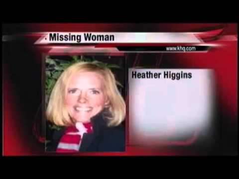 Missing Spokane Woman Heather Higgins KHQ news reports Oct. 2010