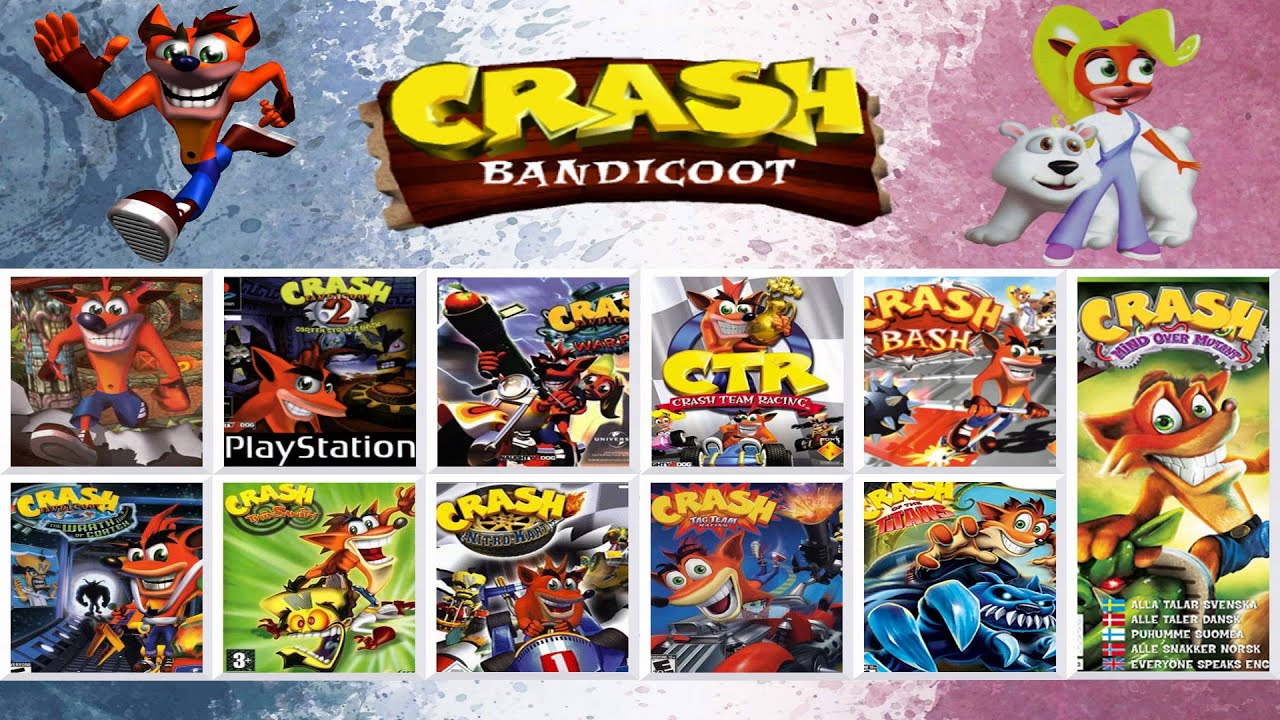 Which crash bash or crash bandicoot on  softcore scenes