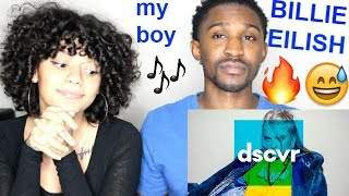 "Billie Eilish ""my boy"" LIVE dscvr Artists to Watch REACTION!! Jaz & Alex"