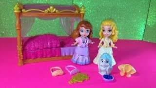 Disney Junior Sofia the First Princess Sister' Sleeptime Disney Princess Toy + Amber