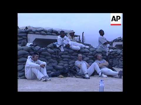 KUWAIT: US FORCES IN THE GULF CELEBRATE CHRISTMAS