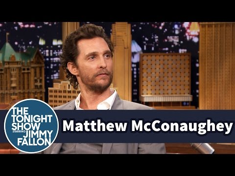 Matthew McConaughey's Mom Helped Him Plagiarize