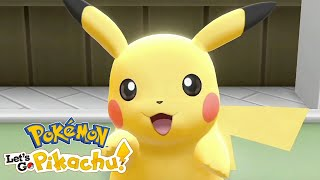 Pokémon: Let's Go, Pikachu! And Let's Go, Eevee! - Pokéball Plus Gameplay Trailer | E3 2018