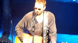 "Eric Church @ Shepherds Bush Empire 02/03/2014 "" Springsteen & I'm on Fire "" AMAZING !"