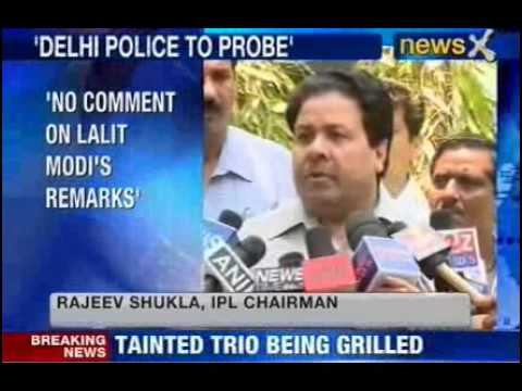 IPL 2013 spot fixing: Rajeev Shukla praises Delhi police