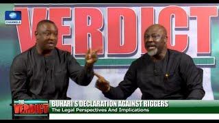 Melaye, Keyamo In Heated Debate Over Buhari's Order On Ballot-Snatching - The Verdict