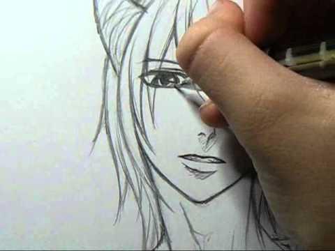 drawing sketch demon boy youtube