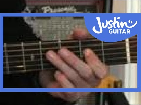 Easy Acoustic Solo Blues Lesson: Slow Playalong #3of3 (Guitar Lesson PR-001) How to play