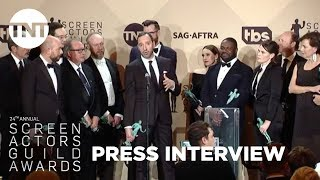 Veep: Press Room Q&A | 24th Annual SAG Awards | TNT