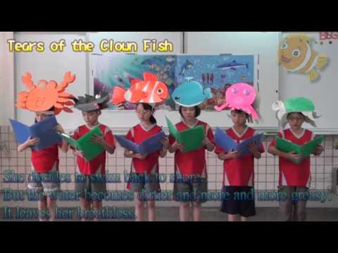 東信國小海洋日-創意英語繪本 Tears of the Clown Fish 讀者劇場展演