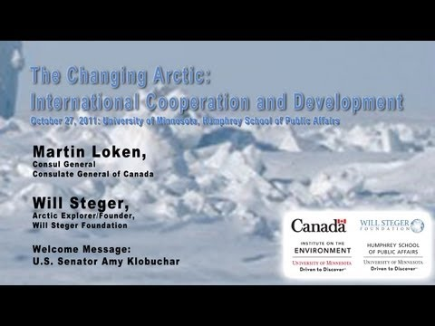 The Changing Arctic: Int'l Cooperation and Development, Part 1