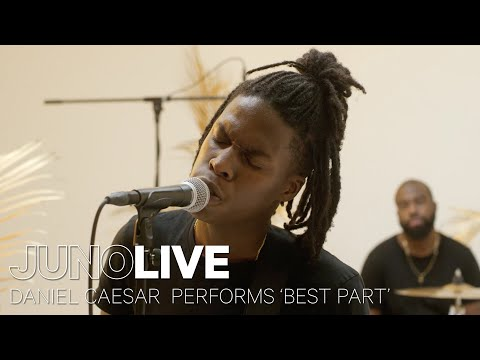 Daniel Caesar performs 'Best Part' on JUNO LIVE   JUNO TV