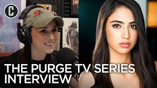 The Purge TV Series Standout Jessica Garza Talks Scoring a Dream Opportunity