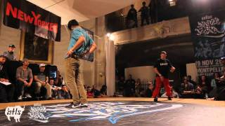 Bboy El Nino vs. Bboy Vicious | BOTY 1vs1 2011 | Semi Final