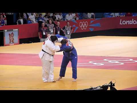 Olympic Judo London 2012 +78kg Bronze - Bryant GBR bt Kindzerska UKR