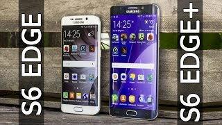 Samsung Galaxy S6 Edge+ VS Galaxy S6 Edge сравнение от FERUMM.COM Что лучше S6 Edge Plus или S6 Edge
