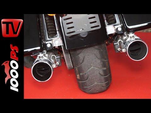 KESSTECH Auspuffanlagen für Harley-Davidson und BMW    Soundcheck, Preis