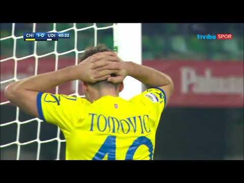 Serie A 20. Hafta   Chievo 1-1 Udinese Maç Özeti