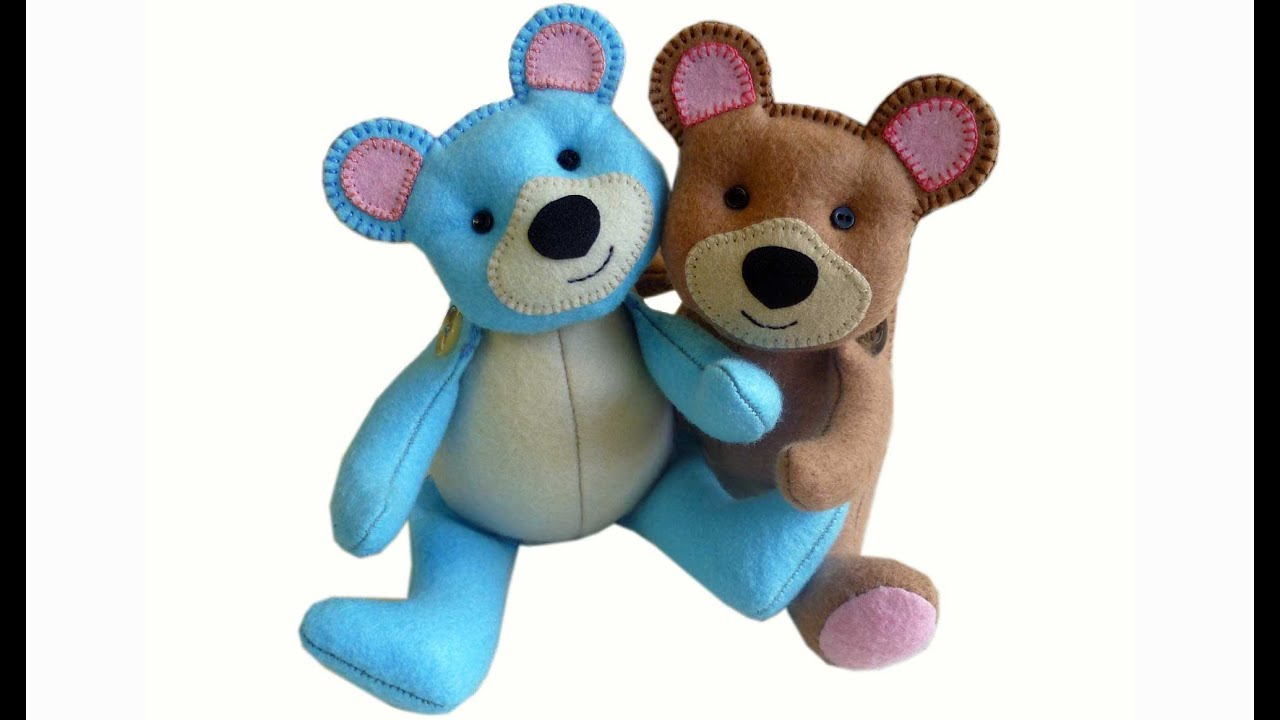 How to make a teddy bear tutorial free pattern and easy to make with
