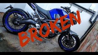 Faulty Yamaha MT09 Breaks Down - 2019