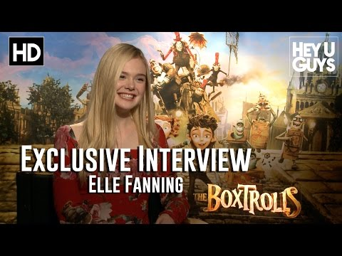 Elle Fanning Interview - The BoxTrolls
