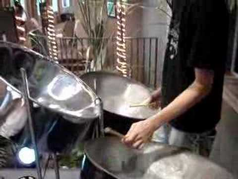 Amazing steel drum solo Video