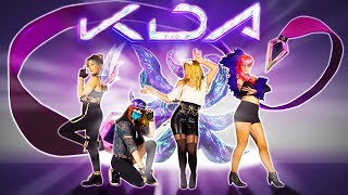 Just Dance POP/STARS K/DA from LoL   KPOP gameplay in COSPLAY   4K