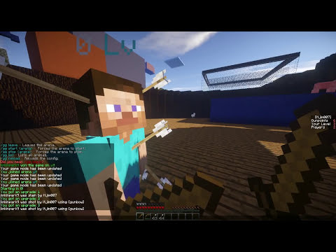 Minecraft Bukkit Plugin - Gun Game Minigame - Tutorial