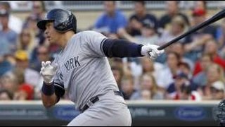 Alex Rodriguez 3 Home Runs vs. Twins