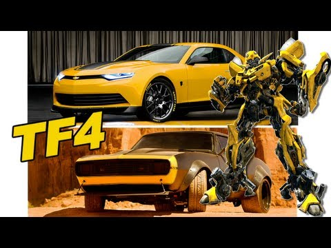 Bumblebee is back! NOT black in Transformers 4 - [TF4 News #30]