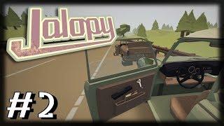 Jogando Jalopy - A Grande Jornada - Ep 2 - Primeira Viagem!!