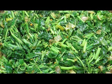 How To Make Thotakura Fry - Andhra Style Thotakura Vepudu | Amaranthus Fry