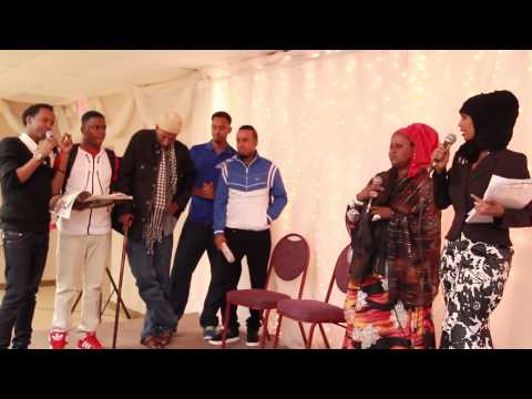 Somali Entertainment Awerds 2013 host in Somali National tv studio Mpls