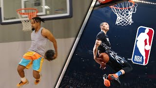 "Remaking The Best NBA ""Dunk Contest"" Dunks OF ALL-TIME Challenge!!"
