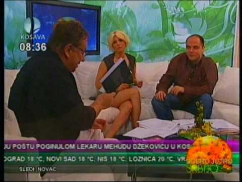Deana Pavlovic ex  Zivanovic - sexy crossed legs