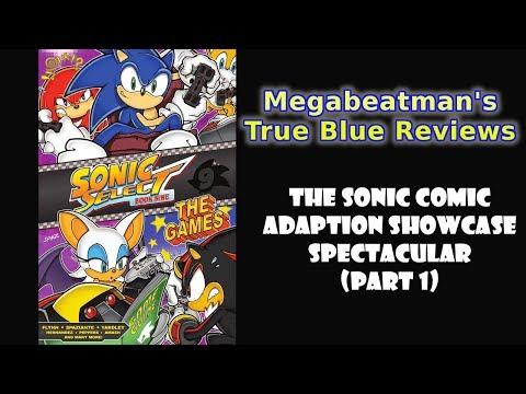 The Sonic Comic Adaption Showcase Spectacular (Part 1) - A Comic Review By Megabeatman