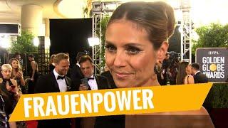 GOLDEN GLOBES 2018 | Outtake Heidi Klum