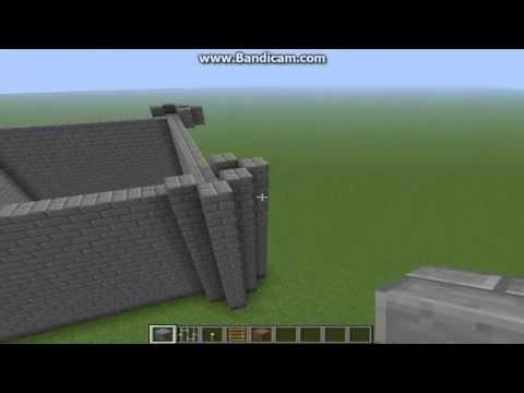 Sakuraśne Budowle -Minecraft-Jak Zrobić Mały ładny Zamek  #01