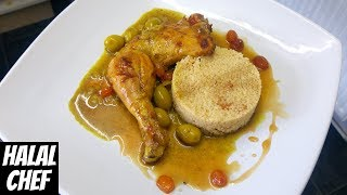 Moroccan Chicken with Couscous & Sultanas - Halal Chef