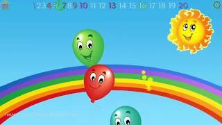 Best Kids Balloon Pop game for preschool and kindergarten#2|Funny Cartoon Educational Children Games